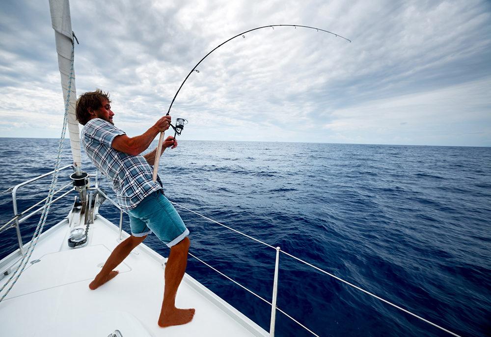 Fishing for mahimahi