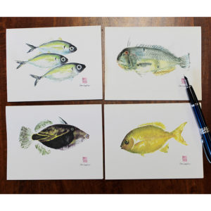 Hamoa note cards
